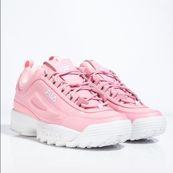 Fila Shoes | Disruptor 2 Baby Pink Size